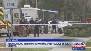 Dead man, bottles of hydrochloric acid found in car in Jacksonville neighborhood