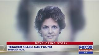 Police find slain Jacksonville teacher