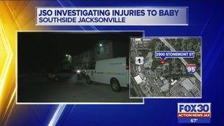 Dad: Police question wife after baby hospitalized with life-threatening…