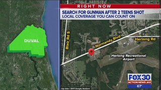 """JSO: Two teens shot after """"juvenile"""" party at National Guard Armory"""