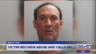 Jacksonville police: Man arrested after girl records abuse and calls 911