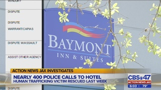 Nearly 400 police calls to hotel