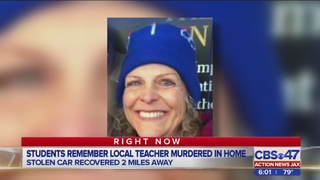 Students remember local teacher murdered in home