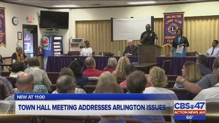 Town hall meeting addresses Arlington issues