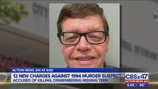 12 new charges against 1994 murder suspect