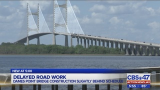 Dames Point Bridge lane closures: FDOT says work being done out of…