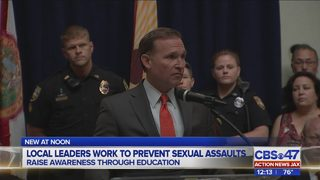 Jacksonville mayor plans to put a stop to growing number of Florida sex crimes