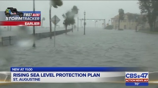 St. Augustine city leaders address rising sea level concerns