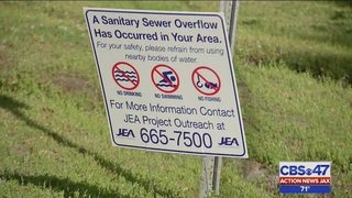 1 million gallons of sewage leak into Cedar River in Jacksonville,…