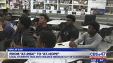Local students take anti-violence message out of classroom