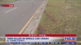 Troopers identify teen killed in St. Johns County crash