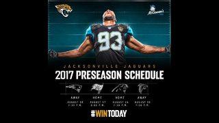 Jacksonville Jaguars 2017 Preseason Schedule