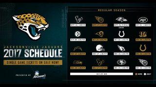Jacksonville Jaguars release 2017 regular schedule