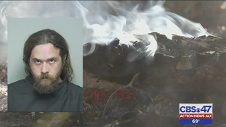 Putnam sheriff: Man arrested after starting blaze with dollar bill he…