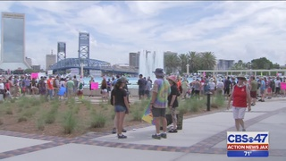 Hundreds join March for Science in Jacksonville