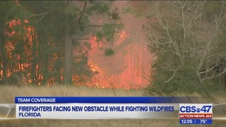 Jacksonville area to experience smoke from 46,000-acre wildfire