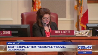 Next steps after pension approval