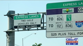 Express lanes considered for I-95