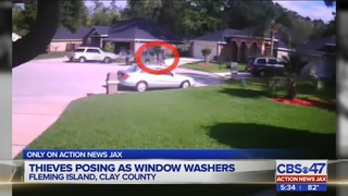 Thieves posing as window washers in Fleming Island