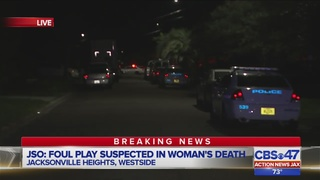 Jacksonville police investigating woman