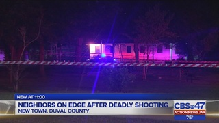 Neighbors on edge after deadly shooting in New Town