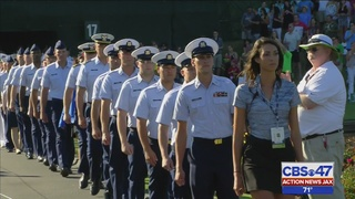 Military Appreciation Day at The Players draws thousands