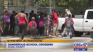 Action News Jax Investigates: Parents say crossing situation at…