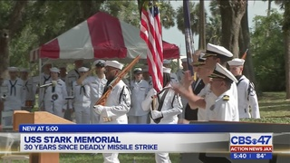 USS Stark Memorial: 30 years since deadly missile strike