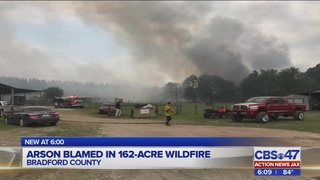 Suspected arsonist behind 3 Bradford County fires still at large