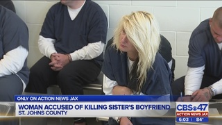 Woman accused of killing sister