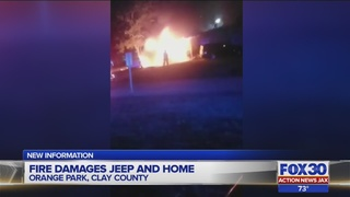 Officials investigate possibly suspicious fire in Clay County