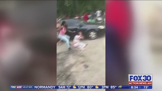 Jacksonville brawl video: JSO arrests woman, 18, after Moncrief fight