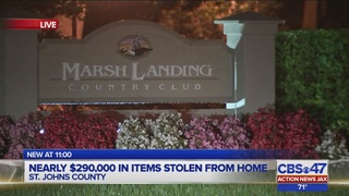 $292K in jewelry, coins taken from Ponte Vedra Beach home
