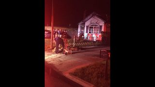 Jacksonville family escapes overnight house fire