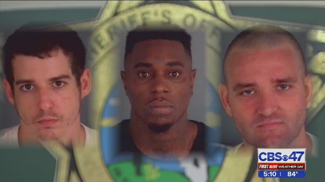 Clay County deputies arrest 3 men after 18-year-old