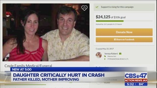 Community mourns Fernandina Beach father killed in crash