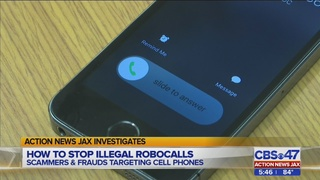 Illegal robocalls tie up your phone, but there