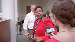 Jacksonville Councilwoman Katrina Brown missed nearly half of all…