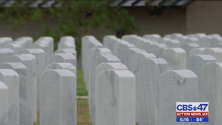 Jacksonville National Cemetery needs help laying flags on graves