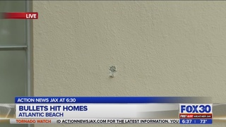 Bullets hit Atlantic Beach homes