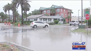 Flooding follows strong storms