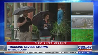 Severe storms in Nassau County