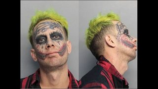 """Joker"" accused of flashing gun at cars"