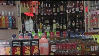 Liquor wall staying up in Florida after Gov. Scott