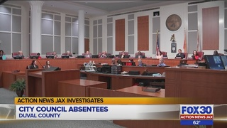 No rules require Jacksonville City Council members to show up