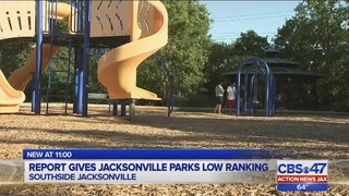 Report gives Jacksonville parks low ranking