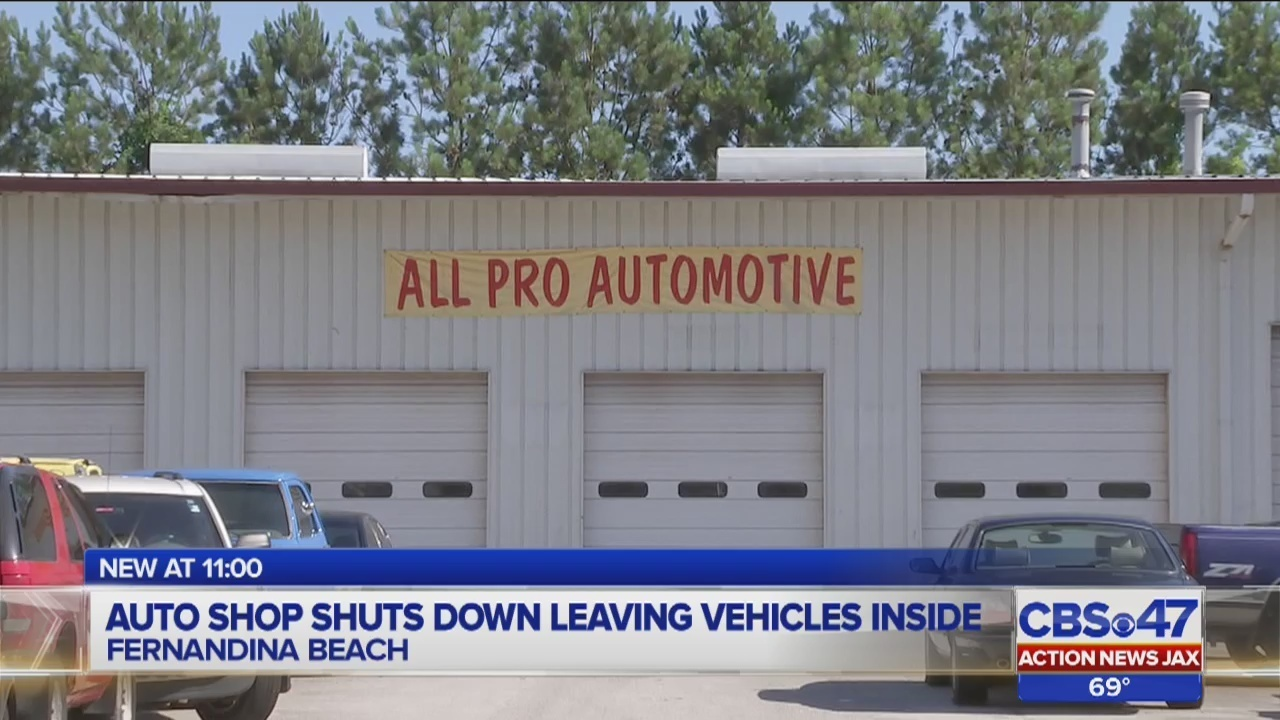 All Pro Automotive >> Fernandina Beach Auto Shop Shuts Down With No Warning To