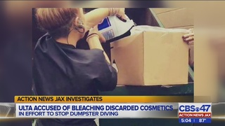 Jacksonville ULTA accused of bleaching discarded cosmetics to deter…
