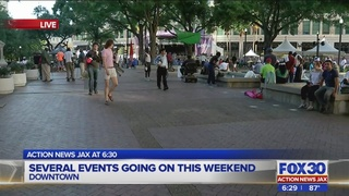 Several events going on this weekend in downtown Jacksonville