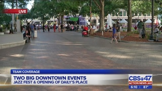 Two big downtown Jacksonville events